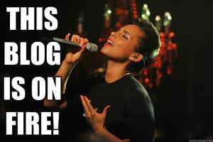 I mean, if Alicia Keys says it, then it must be so... (Claytia G.)