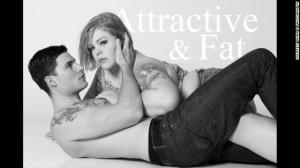 "Jes Baker's ""Attractive & Fat"" campaign."